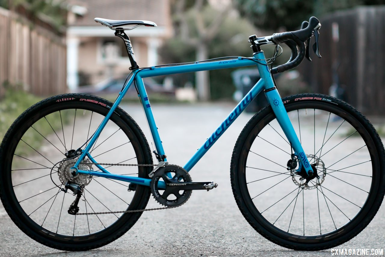 alchemy konis handmade steel cyclocross gravel bike cyclocross magazine