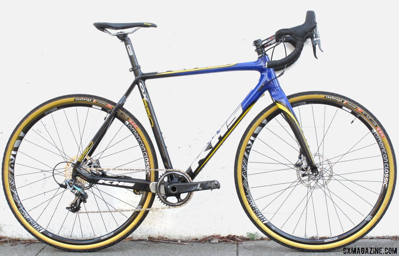 In Review: KHS\'s CX550 Team Cyclocross Bike - Cyclocross Magazine ...
