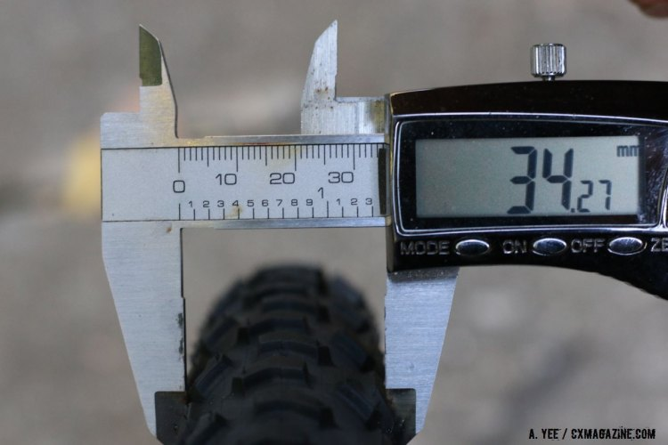 Must have equipment for the UCI-racing cyclocrosser: Accurate calipers. © Cyclocross Magazine