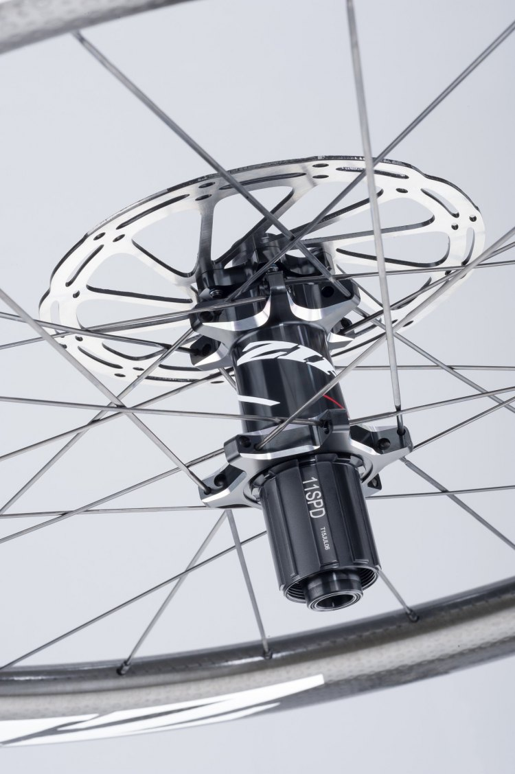 Both the Firecrest 404 and 808 models now offer disc braking as an option. Photo courtesy: Zipp Speed Weaponry