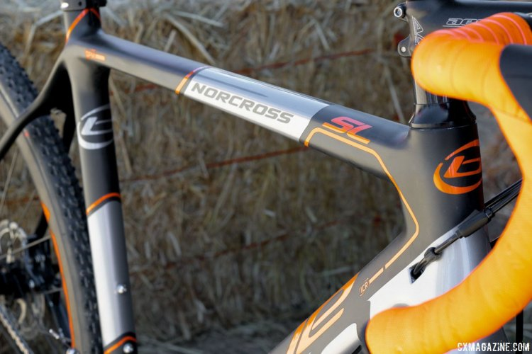 Blue Competition Cycles Norcross SL cyclocross bike. Sea Otter Classic 2016. © Cyclocross Magazine