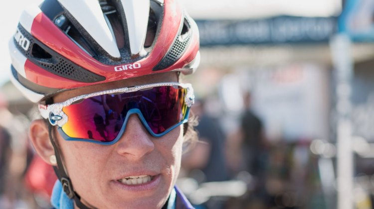 Caroline Mani - 2016/2017 World Cup Winner? She says that's her team's goal. Sea Otter Classic CX 2016. © Cyclocross Magazine