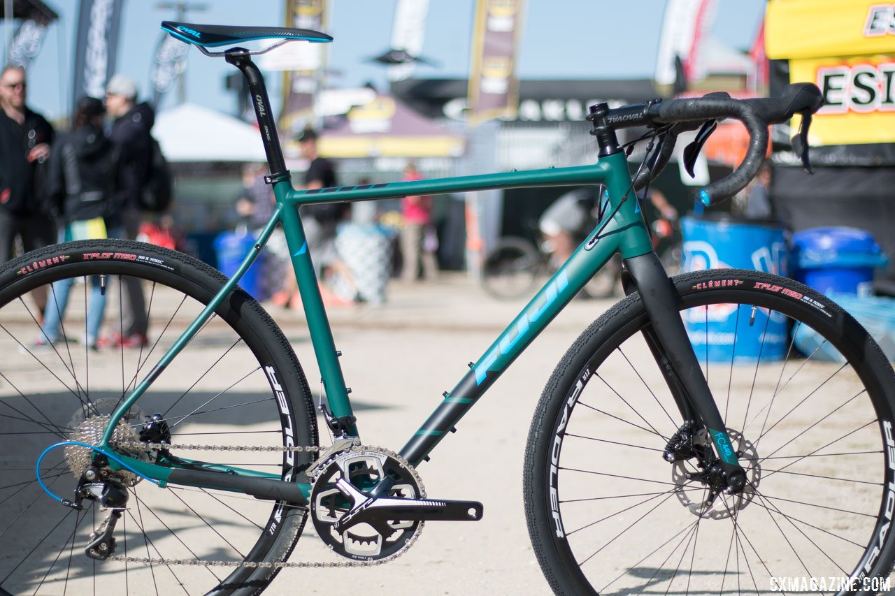 fuji s first ever gravel bike unveiled at sea otter. Black Bedroom Furniture Sets. Home Design Ideas