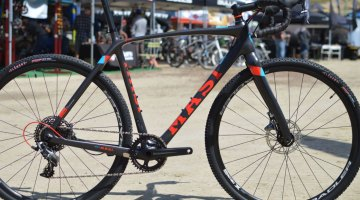 Masi's flagship CXRc Force 1 cyclocross race bike. 2016 Sea Otter Classic. © Clifford Lee / Cyclocross Magazine