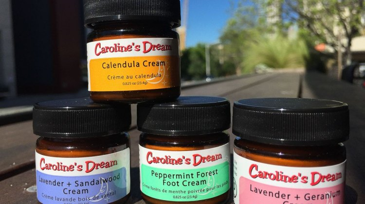 The sample pack of Caroline's Dream main creams. © Daniel Curtin / Cyclocross Magazine
