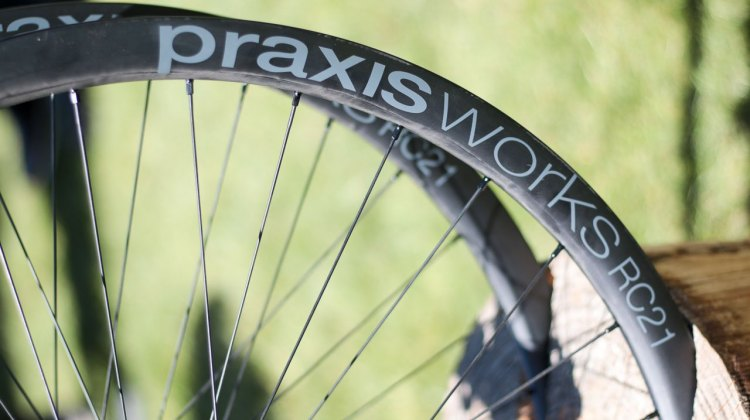 The RC21, along with the A24, marks Praxis' entry into the wheel market. 2016 Sea Otter Classic. © Andrew Yee / Cyclocross Magazine