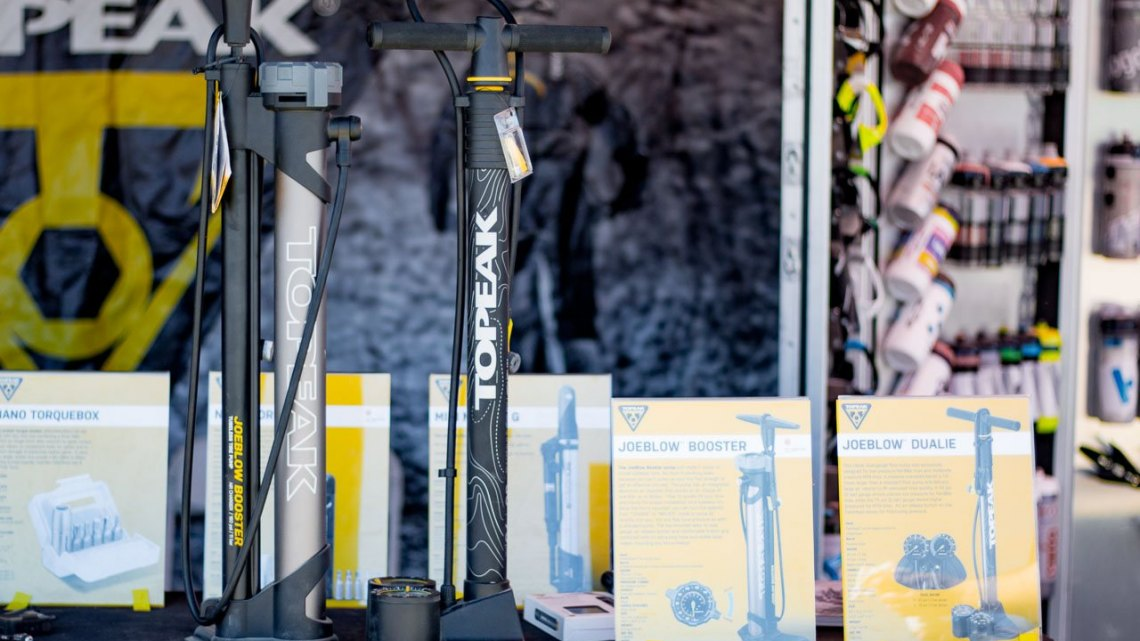 Topeak pumps. Sea Otter Classic 2016. © Cyclocross Magazine