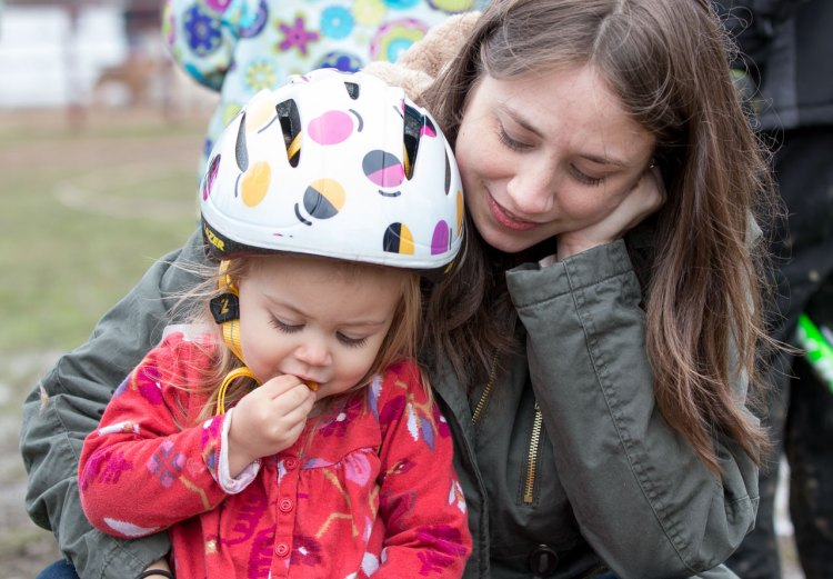 Happy Mother's Day! We couldn't overcome life's barriers without you. Asheville 2016. © Cyclocross Magazine