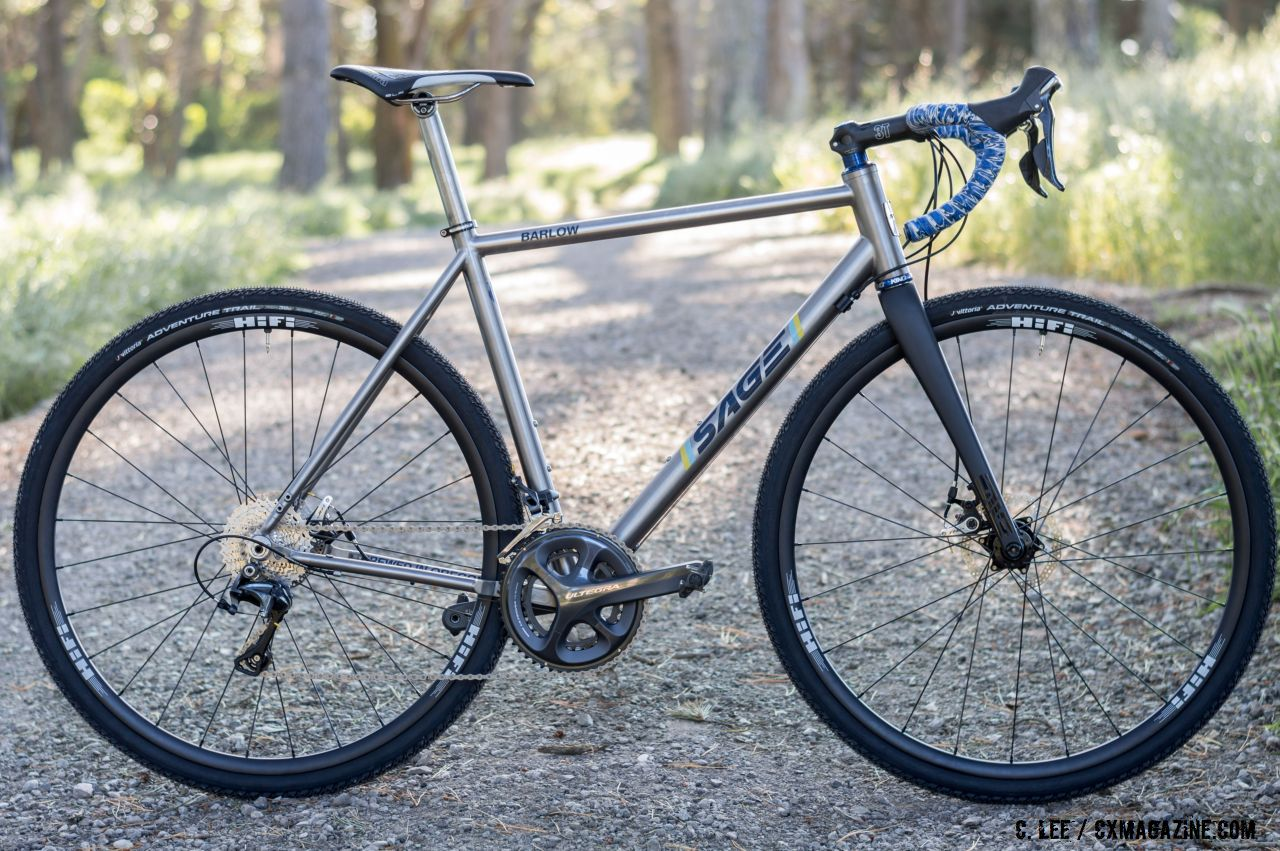 review    usa sage cycles barlow titanium gravel bike cyclocross magazine