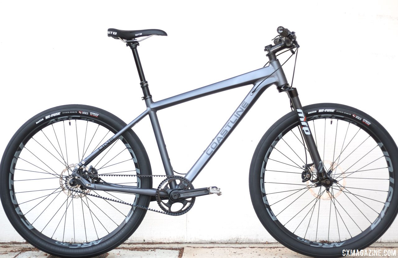 Reviewed: Coastline Cycle Co. SSRX Singlespeed - 650b Belt Drive