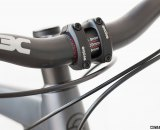 3C carbon riser bar is wide at 720mm, comfy, but has a noticeable flex under hard efforts. Coastline Cycle Co. The One SSRX 650b bike. © Cyclocross Magazine