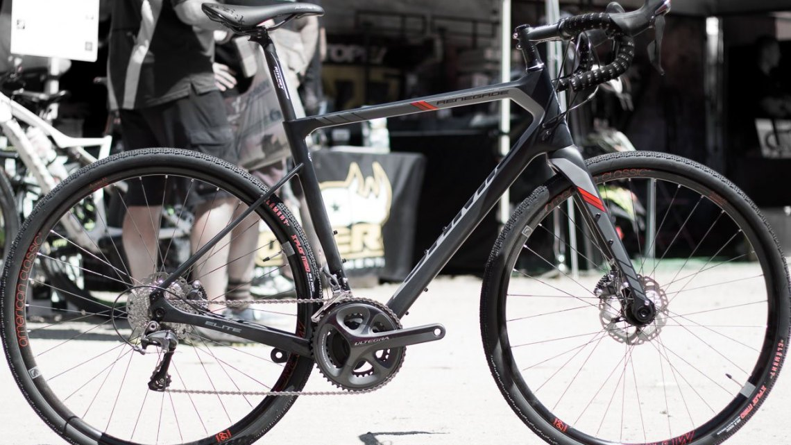 Jamis 2017 Renegade Elite carbon gravel bike. Sea Otter Classic 2016. © Cyclocross Magazine