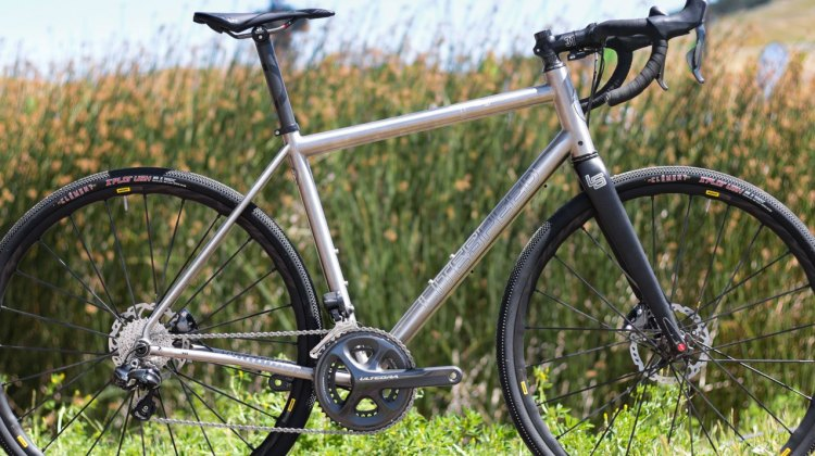 Litespeed's updated T5 Gravel bike. Sea Otter Classic 2016. © Cyclocross Magazine