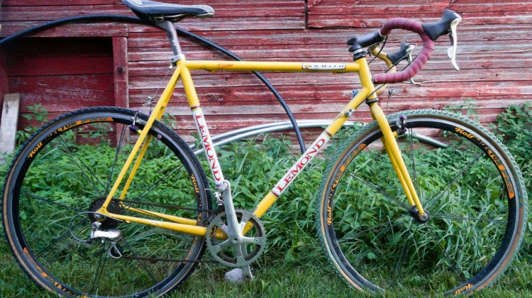Matt Kelly's 1999 Worlds-winning Lemond cyclocross bike. © A. Schwinn / Cyclocross Magazine
