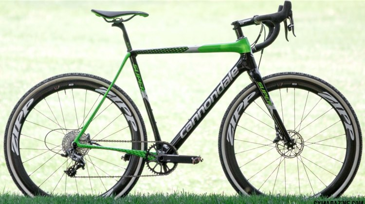 Upgrade nothing: The 2017 Cannondale SuperX Team Cyclocross bike is ready to tackle World Cups or Wednesday Worlds. © Cyclocross Magazine