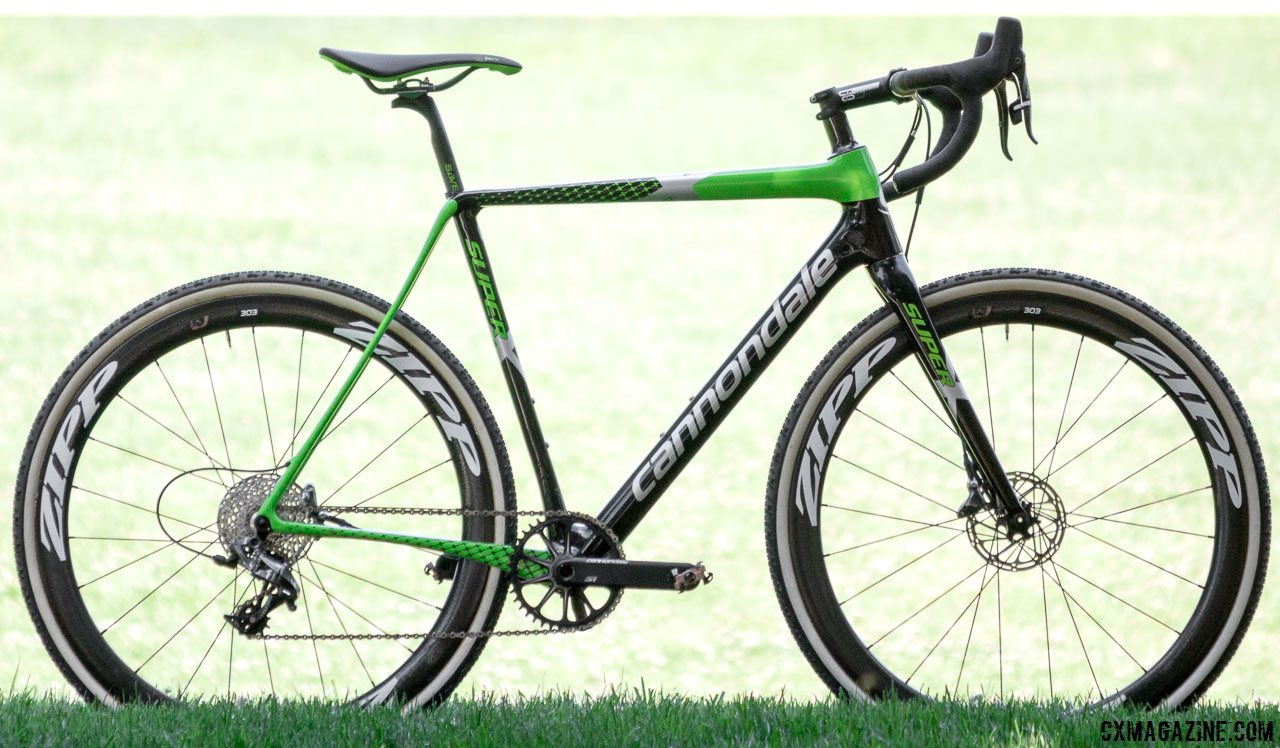 41663315d46 Upgrade nothing: The 2017 Cannondale SuperX Team Cyclocross bike is ready  to tackle World Cups