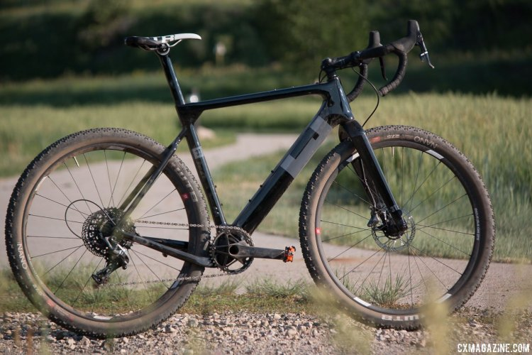 Any road, any surface - the 3T Exploro gravel/cyclocross bike aims to do-it-all with little compromise. Some may smirk at the aerodynamic marketing, but price, not 7 free watts at 20km/h will be a bigger barrier. © Cyclocross Magazine