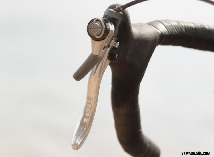 Simple and reliable. Gevenalle's Audax shifters. @Cyclocross Magazine