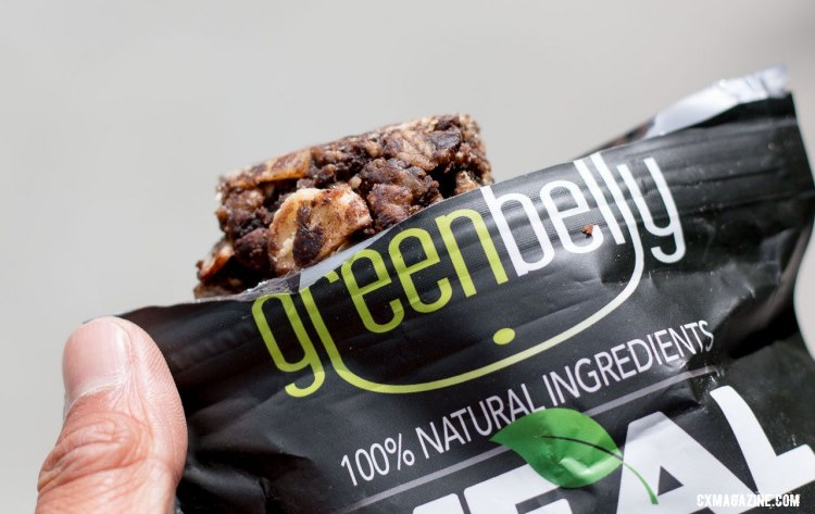 Re-sealable packaging from Greenbelly is a nice touch. ©️ Cyclocross Magazine