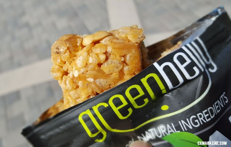Greenbelly Meal 2 Go meal replacement bars. ©️ Cyclocross Magazine
