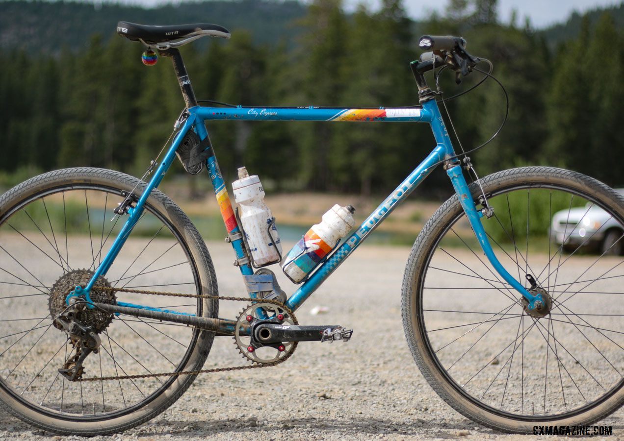 updated - bike profile: lost & found conquering 1985 peugeot city