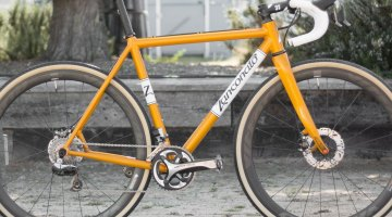 Zanconato custom cyclocross bike. © Cyclocross Magazine