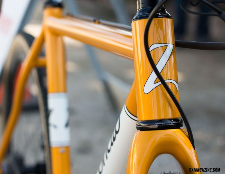 Zanconato is known for making dream bikes that are built to be ridden hard. © Cyclocross Magazine