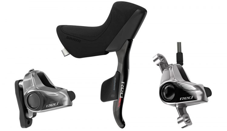 SRAM's new HydroHC eTap levers. Photo courtesy SRAM