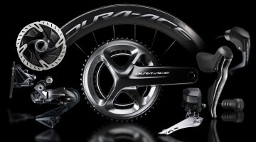 Shimano has revamped the venerable Dura-Ace group and released the new R9100 kit, which now features Dura-Ace level hydraulic braking, among other updates. Photo courtesy Shimano