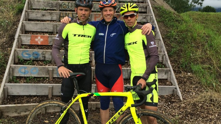 2016 Camp counselors. UCI CX Training Camp 5.0. Photo courtesy Geoff Proctor.