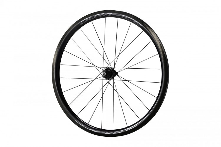 The Shimano R9170 C40 tubeless wheel. Photo courtesy Shimano