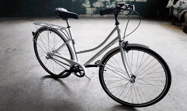 The one-size-fits-most Detroit Bikes' B-Type bike. photo: courtesy