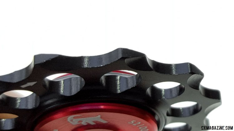 Gevenalle's new sealed Kogel bearing pulleys for cyclocross. © Cyclocross Magazine