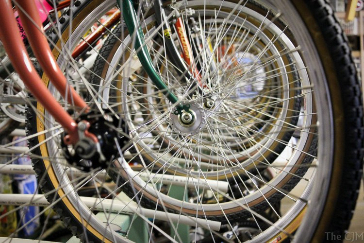Jeff Archer of MOMBAT has amassed an impressive collection of vintage off-road bikes. photo: John Maynard