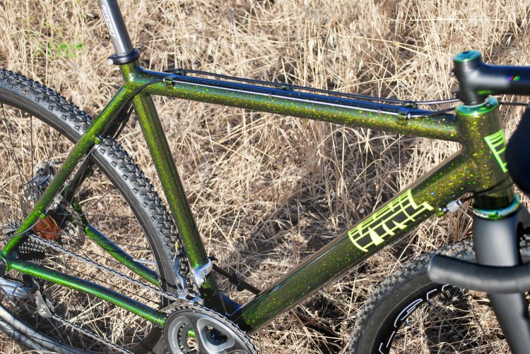 VYNL's new handmade aluminum made-in-USA cyclocross frame aims to stand out in a field of off-the-shelf carbon and aluminum cyclocross bikes.