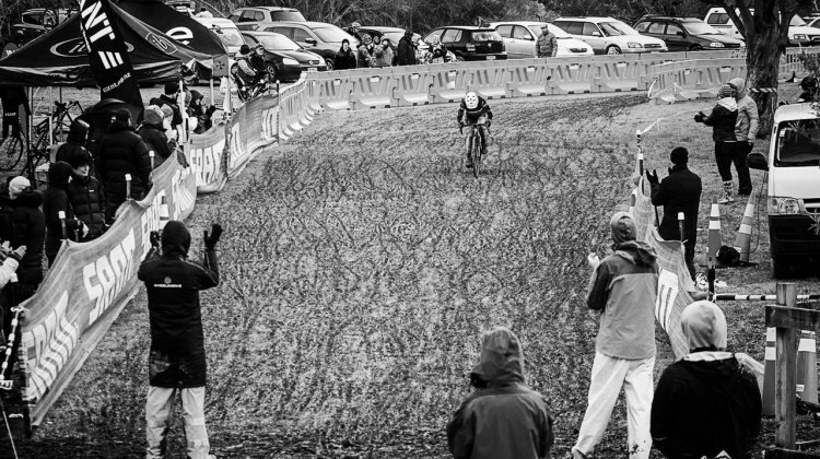New Zealand's 2016 Cyclocross National Championships featured mud that would have made any Belgian feel at home. © Digby Shaw