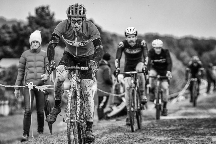 Tristan Rawlence couldn't defend his title. New Zealand's 2016 Cyclocross National Championships. © Digby Shaw