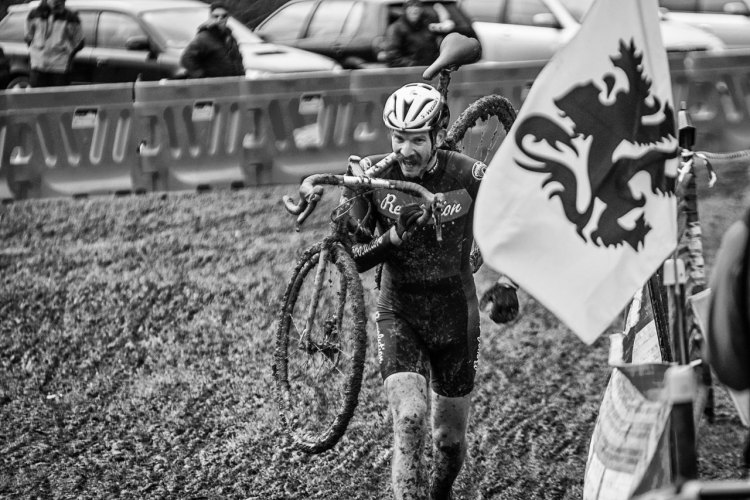 Alex Revell at New Zealand's 2016 Cyclocross National Championships. © Digby Shaw