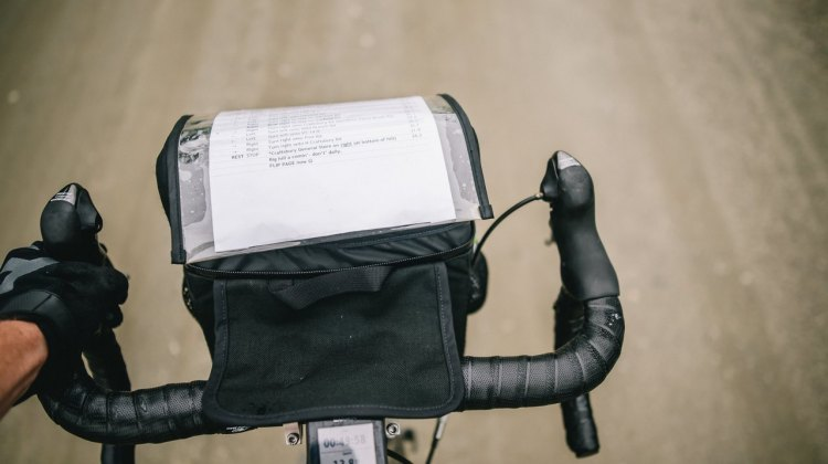It's a big bag, but it was helpful in bringing you these photos. © Chris McIntosh / Cyclocross Magazine