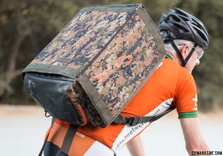 Ride to your team tent, your carpool ride, or to the race. GYST Changing/Transition DB1-15 Duffel Bag © Cyclocross Magazine