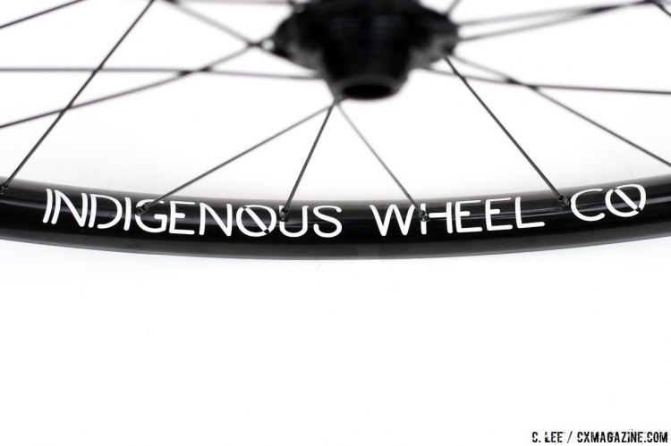 Indigenous Wheel Co.' s gravel / clydesdale tubeless disc brake wheelset are built to last under heavy riders and heavy use. 1780 grams, but relatively light price tag at $450. © Cyclocross Magazine