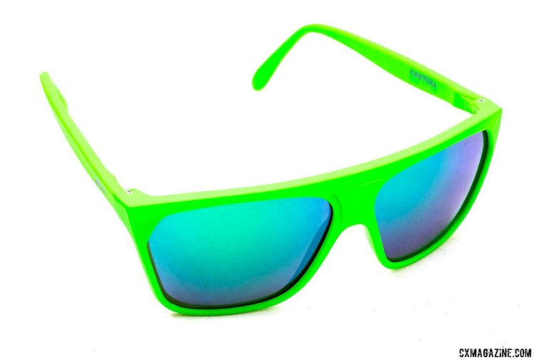 Julbo also offers some casual sunglasses, including this high-vis Cortina model with blue Spectron lens. © Cyclocross Magazine