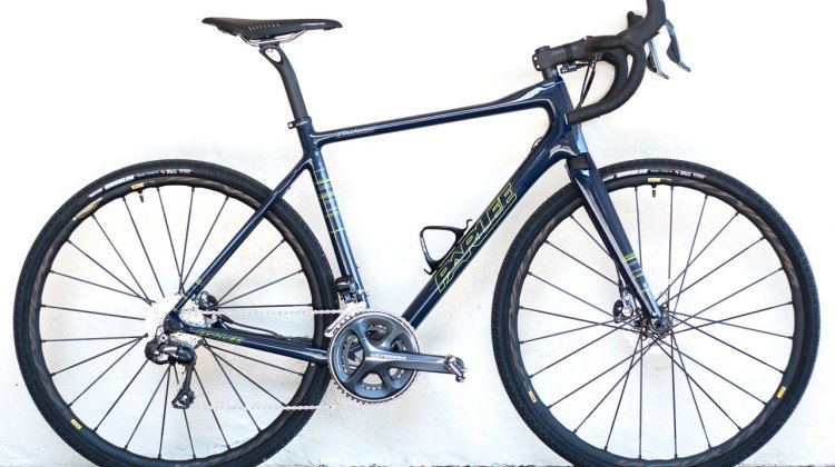 Our Parlee Chebacco cyclocross / gravel bike. © Cyclocross Magazine