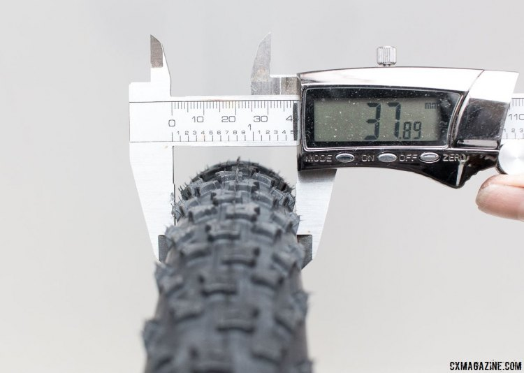 Tire width requirements will be enforced for the Monster Cross category. © Cyclocross Magazine