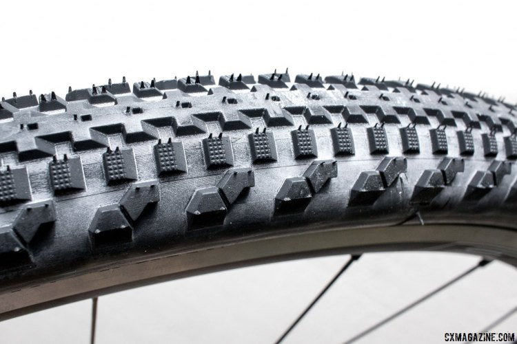 The Soma Fabrications Cazadero 42c gravel tire has become our fave go-anywhere, ride-anything tire. © Cyclocross Magazine