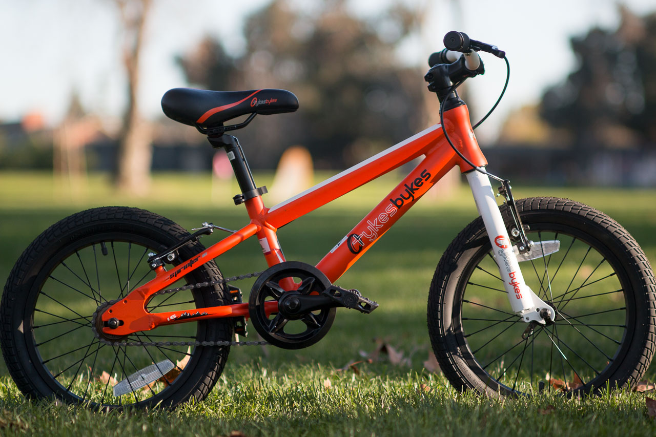 b8caa71a3bc Stampede Bikes (formerly TykesBykes) Sprinter 16 is a short, small full rim  brake