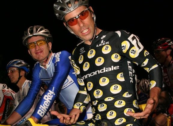Tim Johnson in his Nine Ball Diaries kit at CrossVegas 2007. © Cyclocross Magazine