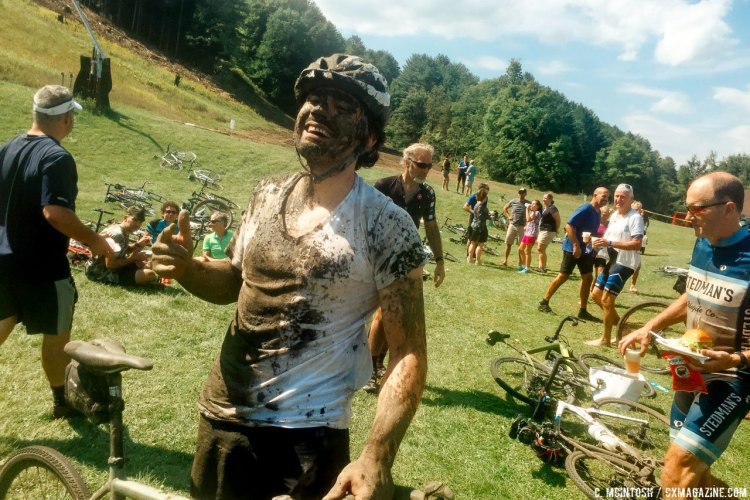 Even in the middle of summer, mudders will find mud. © C. McIntosh / Cyclocross Magazine