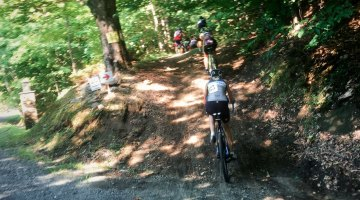 """From gravel to """"Vermont pave."""" © C. McIntosh / Cyclocross Magazine"""