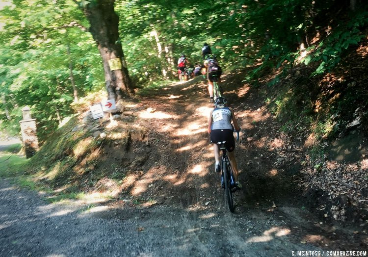 "From gravel to ""Vermont pave."" © C. McIntosh / Cyclocross Magazine"